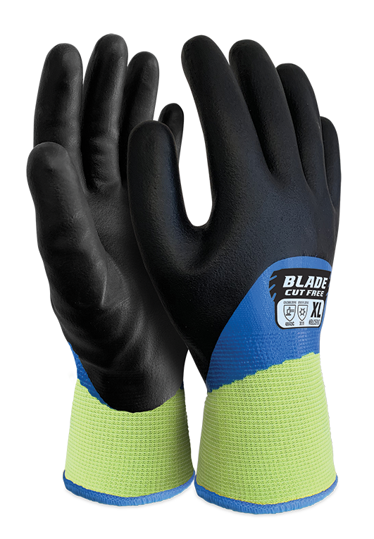 Armour Safety Products Ltd. - BLADE® Cut 5 Nitrile Liquid Proof Thermal Full Coat Glove (-10°C to -30°C)