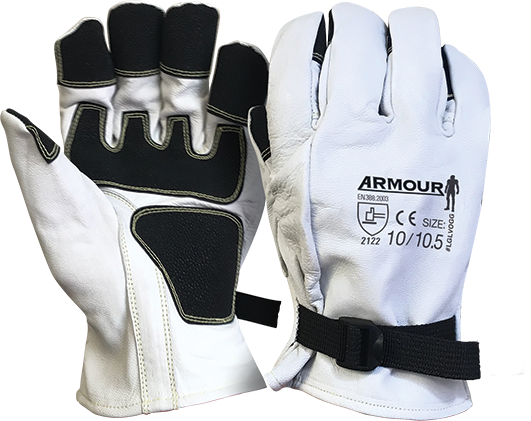 Armour Safety Products Ltd. - Armour® Premium Goat Grain Leather Glove