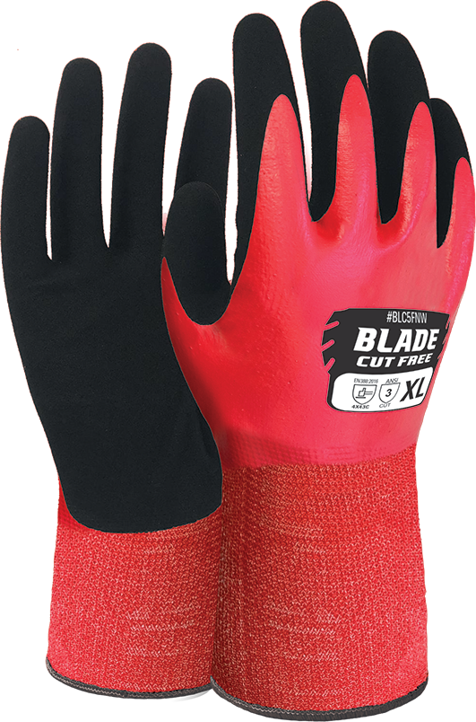 Armour Safety Products Ltd. - BLADE® Nitrile Cut 5 Liquid Proof Full Coat Glove