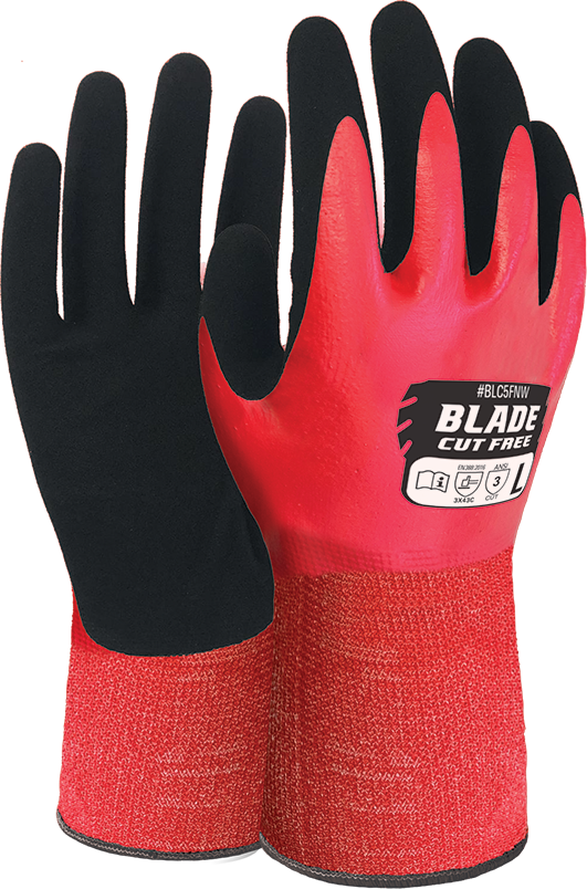 Armour Safety Products Ltd. -  BLADE Cut 5 Liquid Proof Full Coat Glove