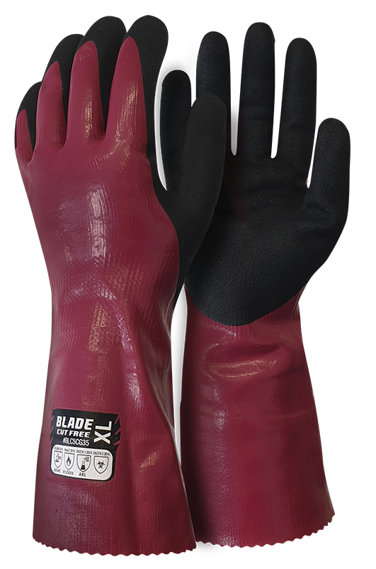 Armour Safety Products Ltd. - BLADE® Cut 5 Chemical Gauntlet - 35cm