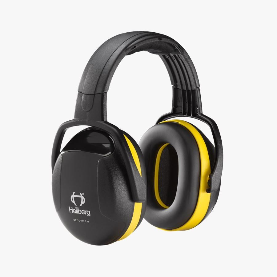 Armour Safety Products Ltd. - Hellberg Secure S2H Yellow Class 5 (SNR) 30 Passive Headband Ear Muff (Mid Attenuation)