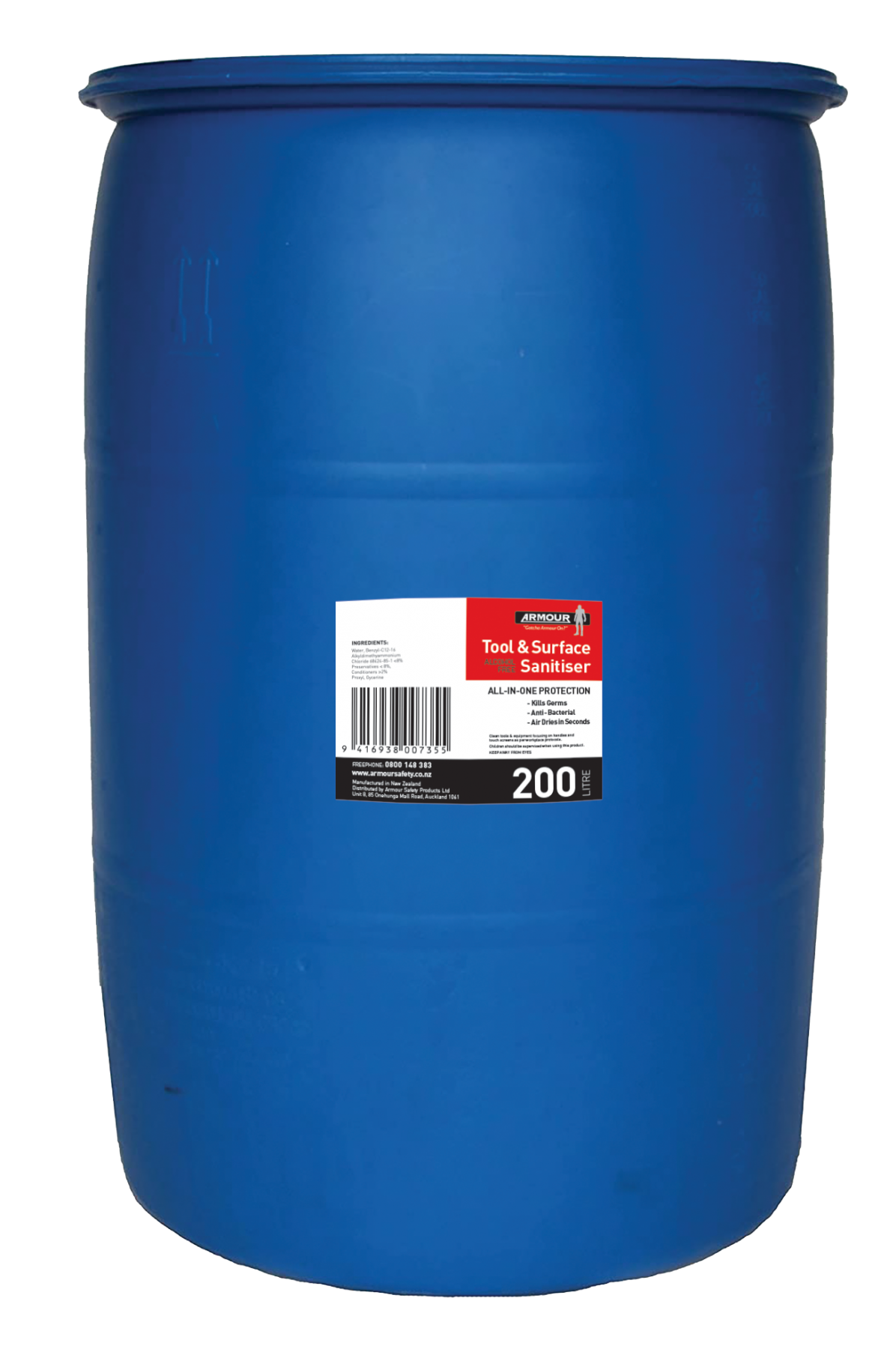 Armour Safety Products Ltd. - Tool and Surface Sanitiser 200 Litre