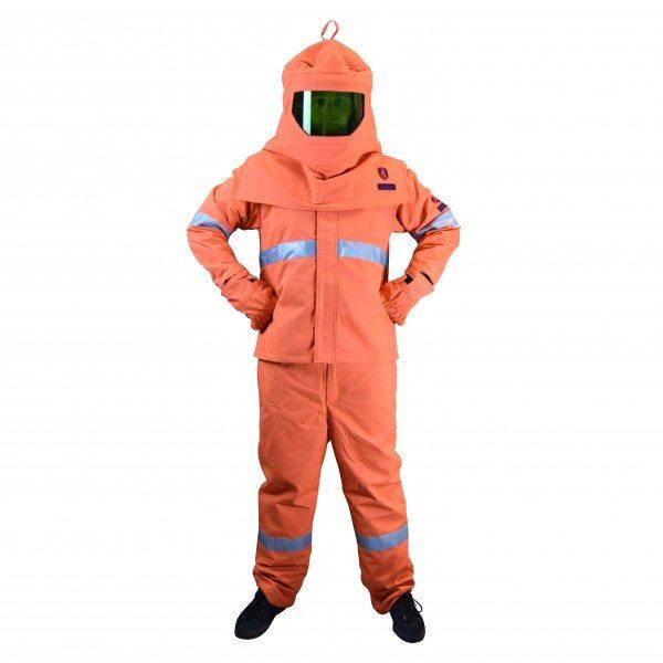 Armour Safety Products Ltd. - Volt® Arc Flash Kit (40cal/cm2+) - Jacket; Bib Trouser; Outer Gloves; Unvented Hood; Helmet & Bag - CAT 4