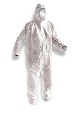Armour Safety Products Ltd. - Armour Splashproof Coveralls White - 60gsm