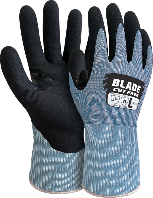 Armour Safety Products Ltd. - BLADE® Foam Nitrile Cut 5 Open Back Glove