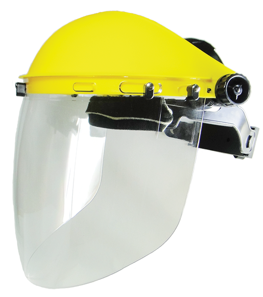Armour Safety Products Ltd. - ARMOUR Faceshield & Browguard Kit - High Impact