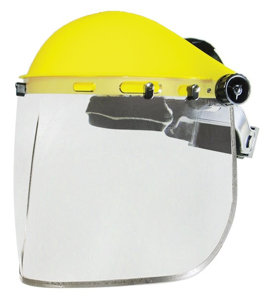 Armour Safety Products Ltd. - ARMOUR Faceshield & Browguard Kit - Medium Impact