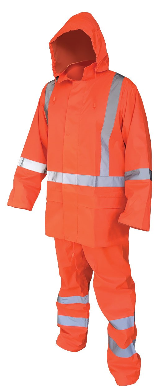 Armour Safety Products Ltd. - Armour® Orange TTMC-W17 Hi-Vis Rainset