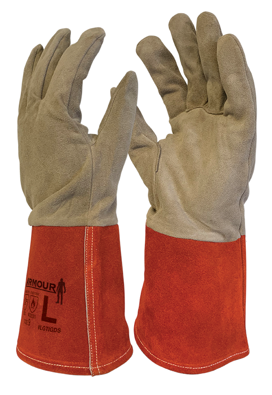 Armour Safety Products Ltd. - Armour® Leather TIG Welding Glove - 30cm