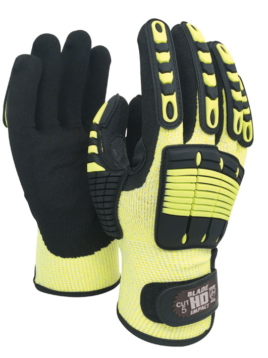 Armour Safety Products Ltd. - BLADE Cut 5 Impact Anti-Vibration Glove