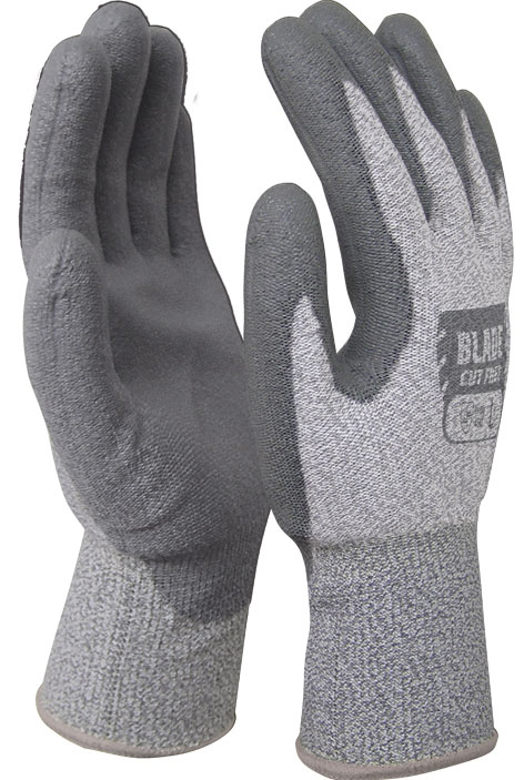 Armour Safety Products Ltd. - BLADE PU Cut 5 Open Back Glove