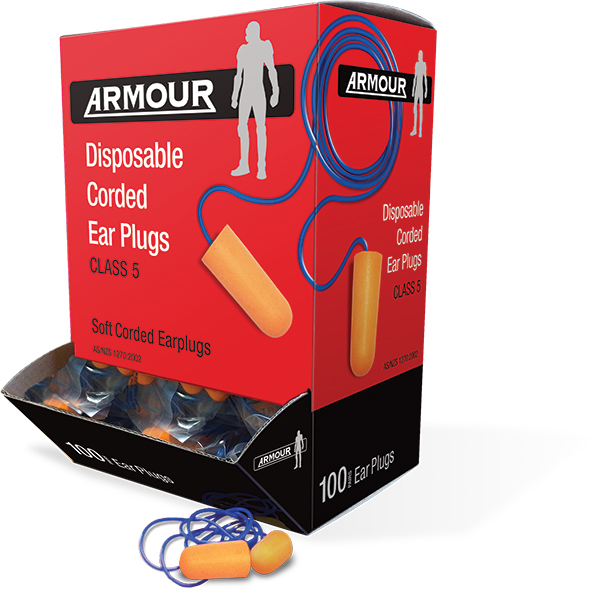 Armour Safety Products Ltd. - Armour Disposable Ear Plug - Corded