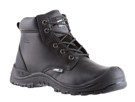 Armour Safety Products Ltd. - No8 Rutherford Lace Up Safety Boot - Black