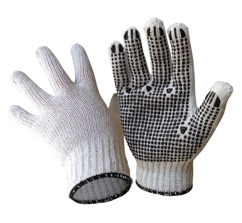 Armour Safety Products Ltd. - Armour® Polycotton Black Dot Glove
