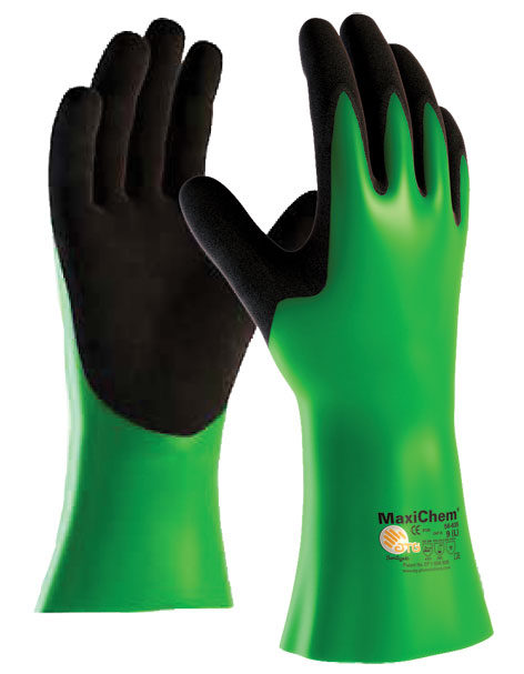 Armour Safety Products Ltd. - MaxiChem Chemical Resistant 35cm Gauntlet